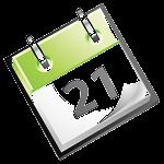 Kalender grün